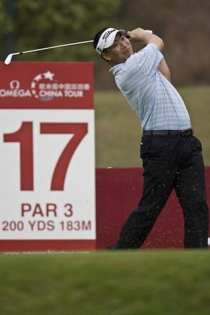 Zhou Xunshu tied for 4th in China Tour's Guangzhou leg