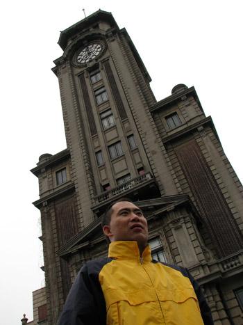 Zhou Xunshu in Shanghai